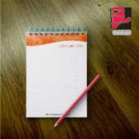 دانلود طرح لایه باز دفتر یادداشت شرکتی