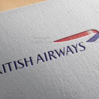 دانلود طرح لایه باز لوگو شرکت هواپیمایی بریتانیا