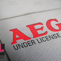 دانلود طرح لایه باز لوگو شرکت AEG