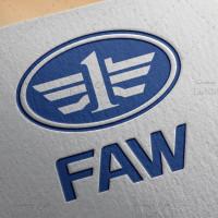 طرح لوگو لایه باز خودروسازی فاو FAW