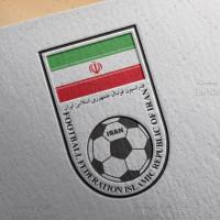طرح لایه باز لوگو فدراسیون فوتبال ایران