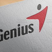طرح لوگو لایه باز شرکت سخت افزاری جنیوس