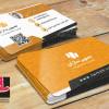 طرح لایه باز کارت ویزیت طراحی وب سایت