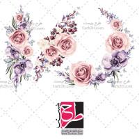 دانلود طرح وکتور گلهای رز