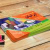 لایه باز طرح کارت ویزیت ظروف یکبارمصرف
