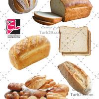مجموعه تصاویر دوربری شده یا PNG نان