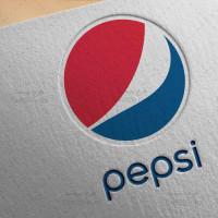 دانلود طرح لایه باز لوگو نوشابه پپسی