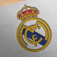 طرح لایه باز لوگو باشگاه رئال مادرید