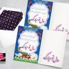 لایه باز طرح کارت پستال تبریک سال نو و عید نوروز