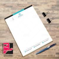 طرح لایه باز سربرگ جدید شرکتی