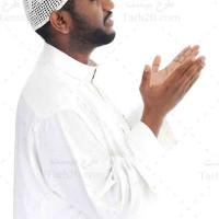 تصویر استوک مرد مسلمان در حال دعا