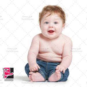 عکس با کیفیت نوزاد پسر