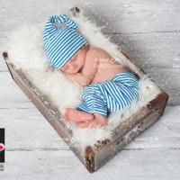 عکس با کیفیت نوزاد در حال خواب