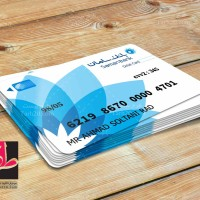 طرح لایه باز کارت اصل و رسمی بانک سامان
