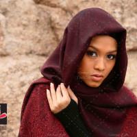 عکس با کیفیت بانوی با حجاب مسلمان