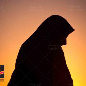 تصویر استوک زن مسلمان و با حجاب