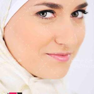 تصویر و عکس با کیفیت خانم با حجاب مسلمان