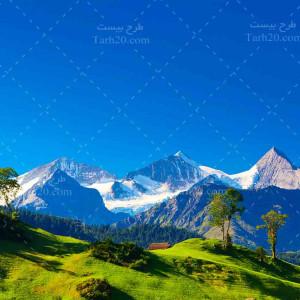 تصویر با کیفیت و استوک کوه و دشت
