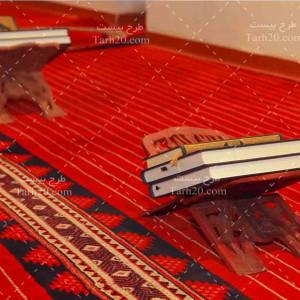 تصویر با کیفیت قرآن کریم در مسجد
