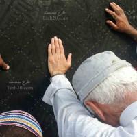 عکس با کیفیت مسلمانان در کنار کعبه