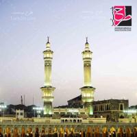 تصویر با کیفیت بالا از مسجد در مکه