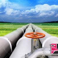 تصویر استوک خط لوله نفت و گاز