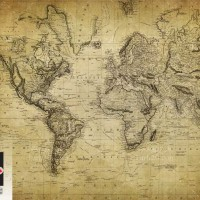 عکس استوک نقشه قدیمی