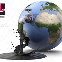 تصویر با کیفیت کره زمین و نفت خام