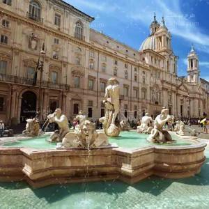 تصویر با کیفیت از پیاتسا ناوونا در رم ایتالیا