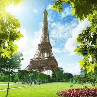 تصویر با کیفیت گردشگری از برج ایفل فرانسه