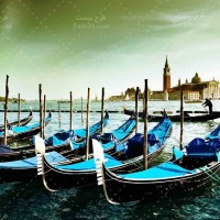 تصویر با کیفیت از کانال بزرگ ونیز ایتالیا