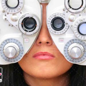 تصویر با کیفیت دستگاه تست چشم پزشکی