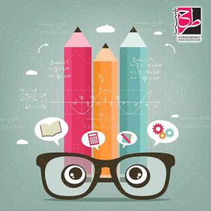 تصویر با کیفیت و مفهومی از عینک و بینایی