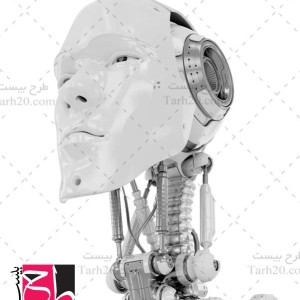 دانلود تصویر با کیفیت سر ربات انسان نما