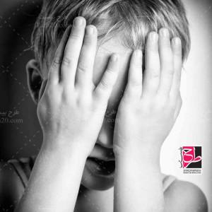 تصویر کیفیت بالا از کودک گریان و ناراحت