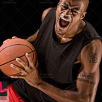 دانلود تصویر استوک بازیکن ورزش بسکتبال