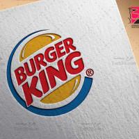 دانلود طرح لوگو لایه باز و وکتور برگرکینگ BURGER KING