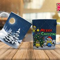 طرح لیوان و ماگ کریسمس و سال نو