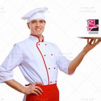 تصویر با کیفیت گارسون و سر آشپز