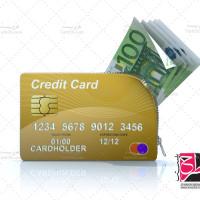 دانلود تصویر با کیفیت کارت بانکی و پول نقد
