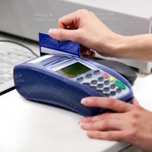 دانلود تصویر استوک دستگاه کارتخوان بانکی