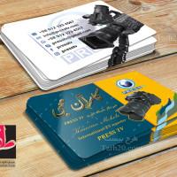 طرح کارت ویزیت لایه باز عکاسی و فیلم برداری
