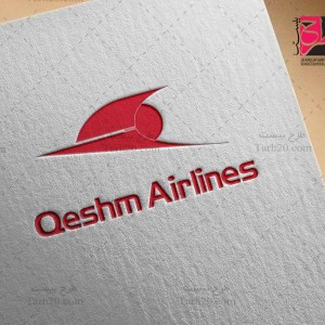 لوگو لایه باز شرکت هواپیمایی قشم ایر