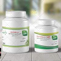 لایه باز سه طرح لیبل داروهای گیاهی