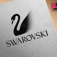 لوگو برند مشهور سواروسکی SWAROVSKI