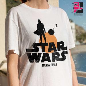 طرح لایه باز تیشرت جنگ ستارگان (Star War)