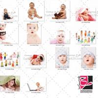 دانلود مجموعه عکسهای استوک نوزاد و کودک