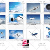 مجموعه ۱۲ تصویر باکیفیت هواپیما مسافربری