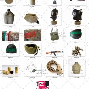 مجموعه ۲۰ عکس با کیفیت ابزار و ادوات جنگی