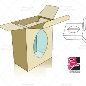 لایه باز طرح دایکات بسته بندی جعبه